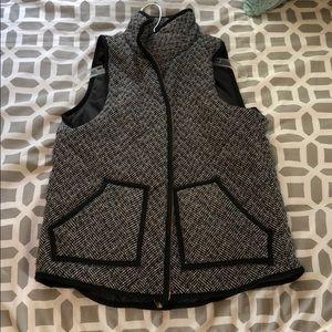 Jackets & Blazers - Herringbone pattern vest